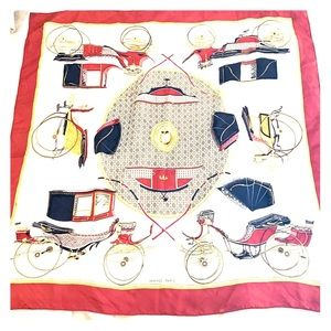 Vintage Authentic Hermès Silk Scarf